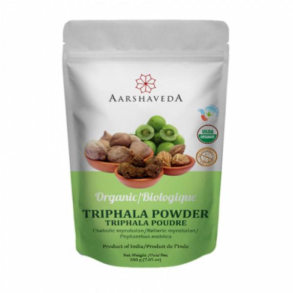 Aarshaveda Organic Triphala Powder, 200gm