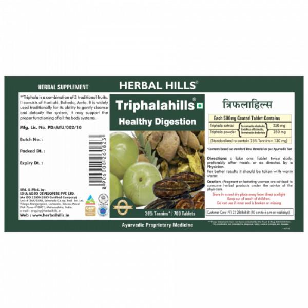 Herbal Hills Triphalahills, 700 Tablets