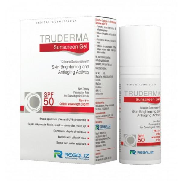 Truderma Sunscreen Gel, 50gm