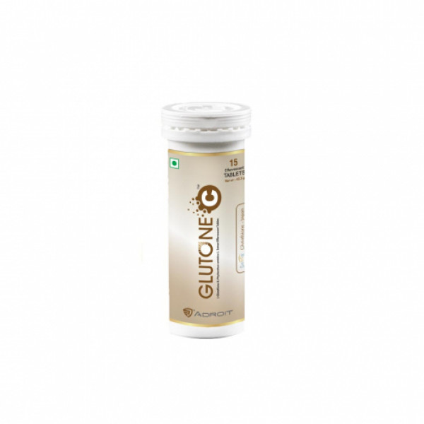 Skin Glow Glutone C Effervescent, 15 Tablets