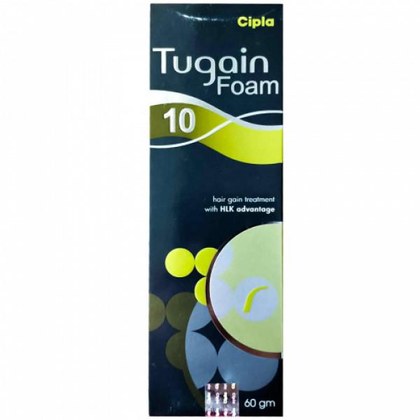Tugain 10 Foam, 60gm