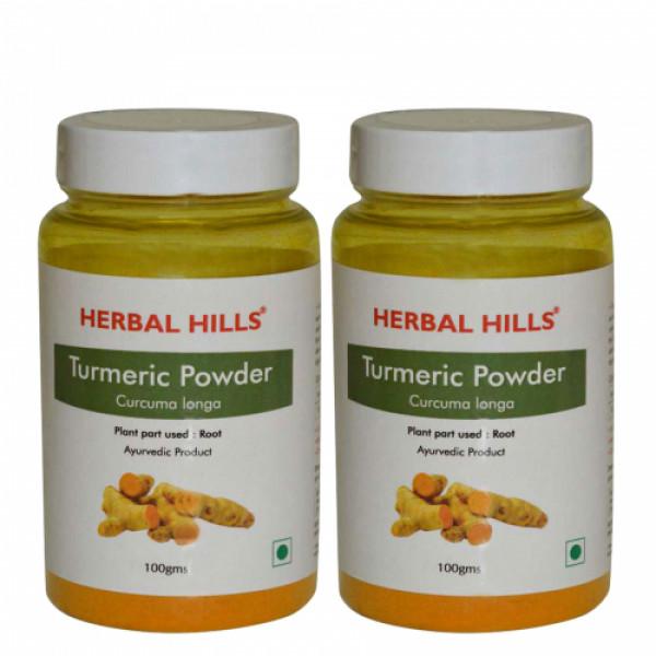 Herbal Hills Turmeric Powder, 100gm (Pack Of 2)