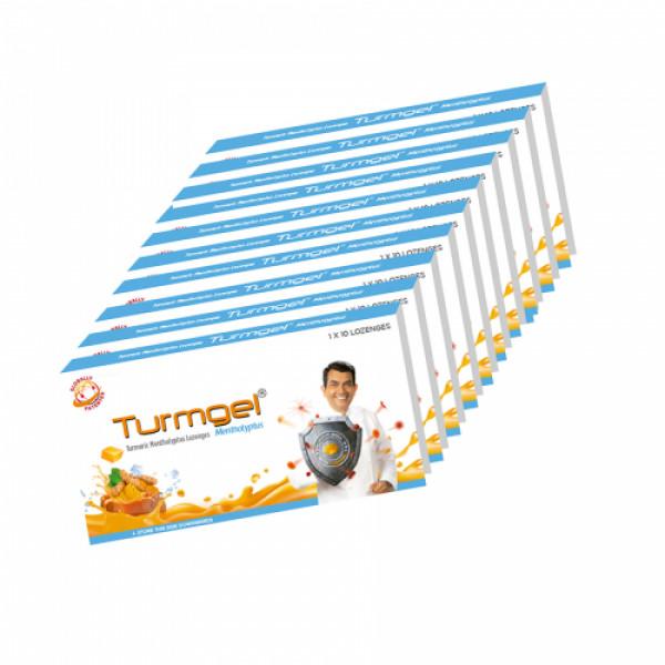 Turmgel, 10 Lozenges (Pack of 10)