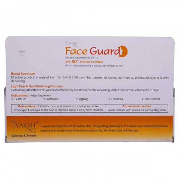 Tvaksh Face Guard SPF30, 50gm