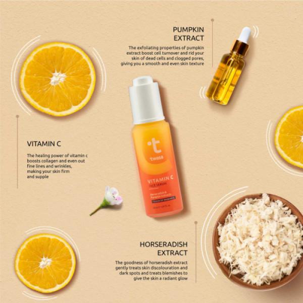 Twasa Vitamin C Face Serum, 25ml