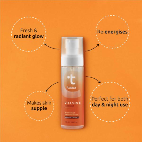 Twasa Vitamin C Face Mist, 100ml