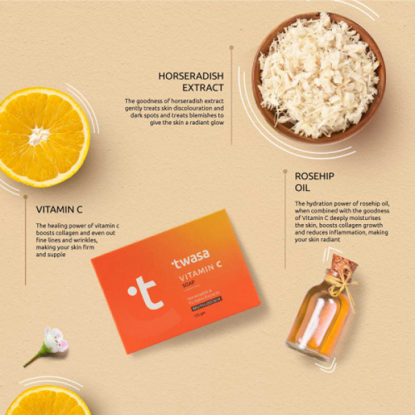 Twasa Vitamin C Soap, 125gm