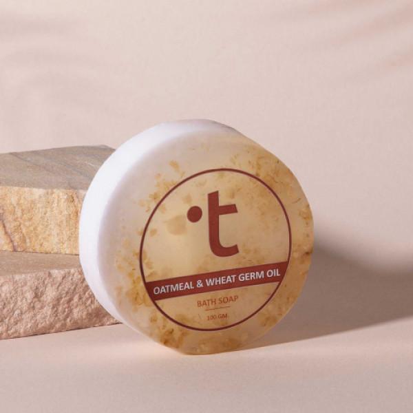 Twasa Oatmeal and Wheat Germ Oil Bath Soap, 100gm