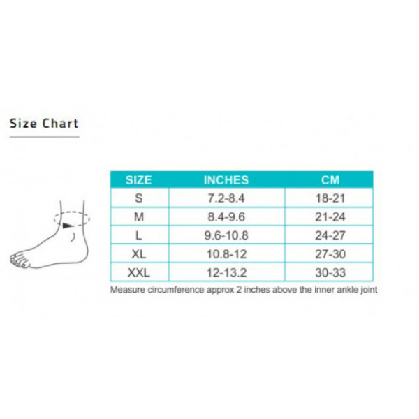 Tynor Anklet Comfeel - L