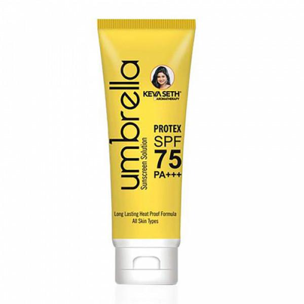Keya Seth Aromatherapy Umbrella Sunscreen Solution SPF 75 & PA+++, 100ml