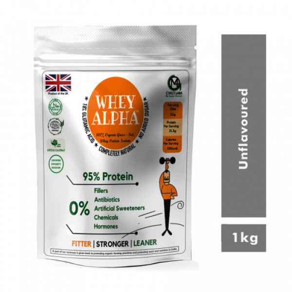 OMG Whey Alpha Unflavored, 1kg