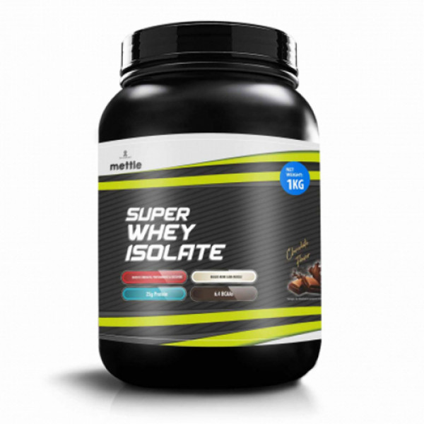 Mettle Super Whey Isolate Chocolate, 1kg