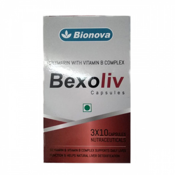 Bionova Bexoliv, 3x10 Capsules