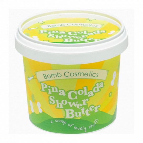 Bomb Cosmetics Pinacolada Shower Butter, 320gm