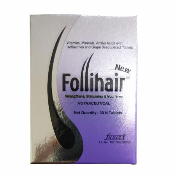 Follihair, 30 Tablets