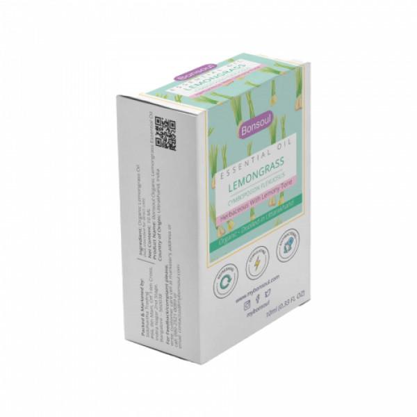 Bonsoul Lemongrass Essential Oil, 10ml