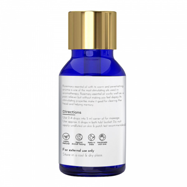 Sage Apothecary Rosemary Essential Oil, 10ml