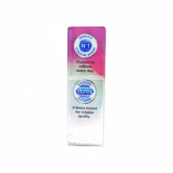 Durex Extra Ribbed Condoms, 3 Pcs