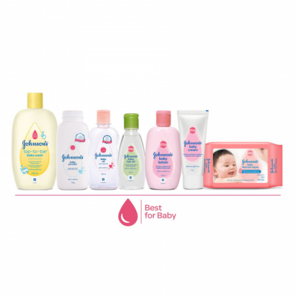 Johnson's Baby Care Collection, Set Of 10