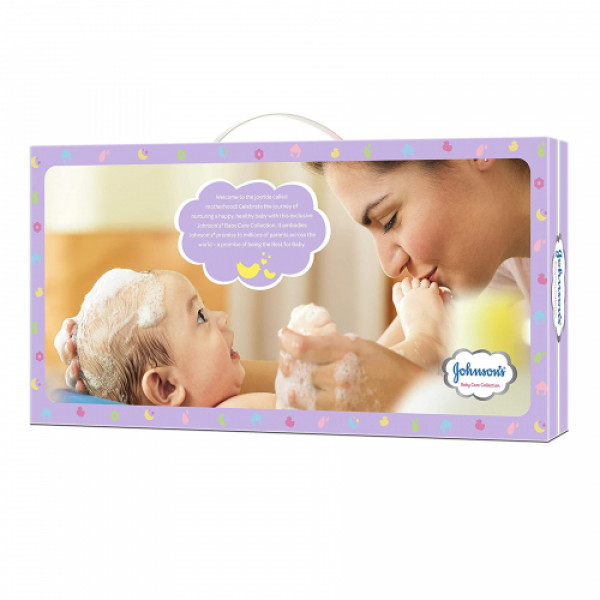 Johnson's Baby Care Collection, Set Of 8