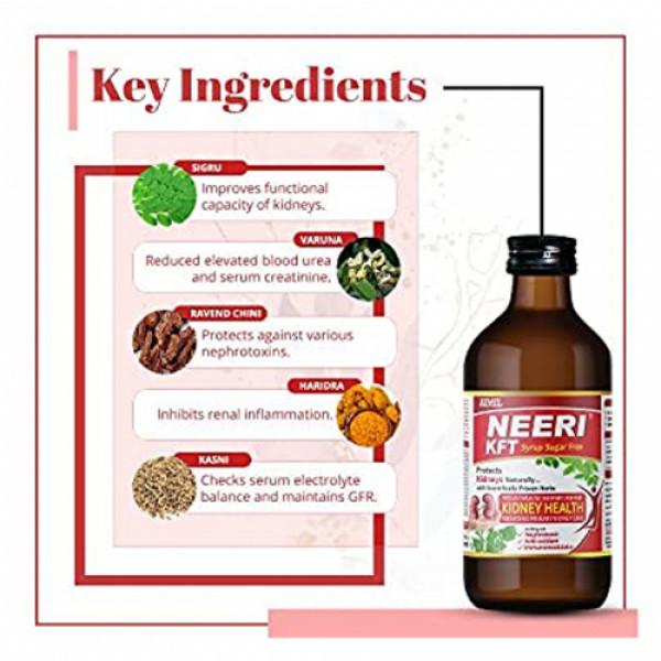 Neeri KFT Sugar Free Syrup, 200ml