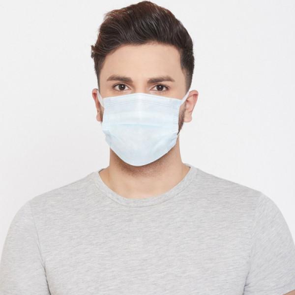 Dispo Guard Disposable Face Mask, 50 Pieces