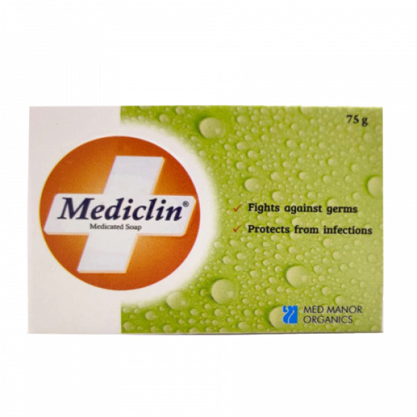 Mediclin Soap, 75gm