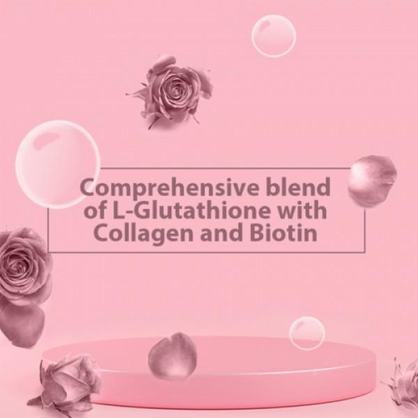 Vitus Glow Distilled Rose flavour, 15 Effervescent Tablets