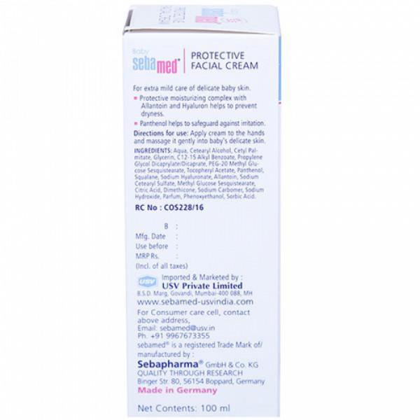 Sebamed Baby Protective Facial Cream, 100ml