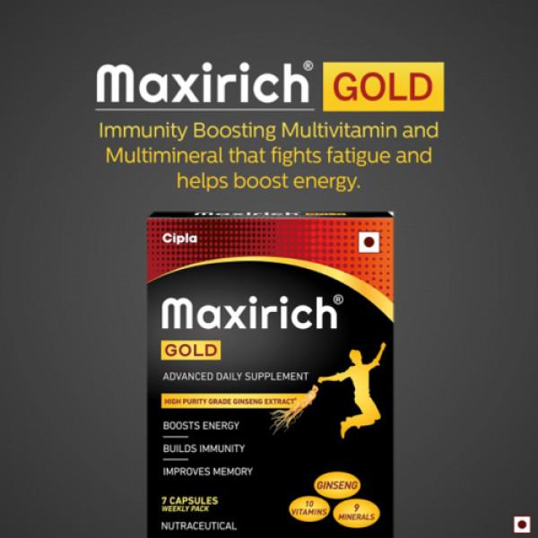 Maxirich Gold, 7 Capsules