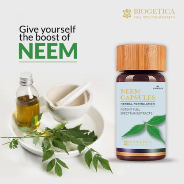 Biogetica Neem, 240 Capsules