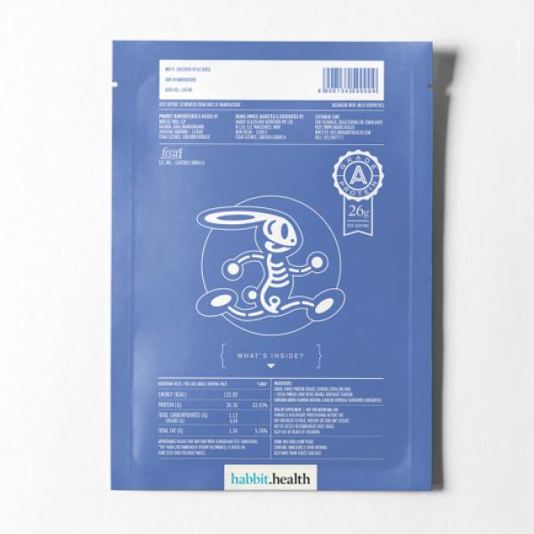 Habbit Apex Whey Isolate Strawberry Protein Feels Powder, 900gm