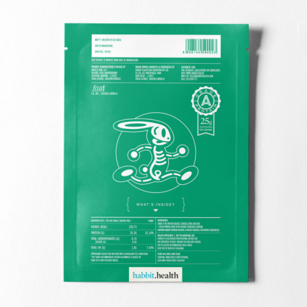 Habbit Green Vegan Pea Protein Banana Drama Powder, 900gm