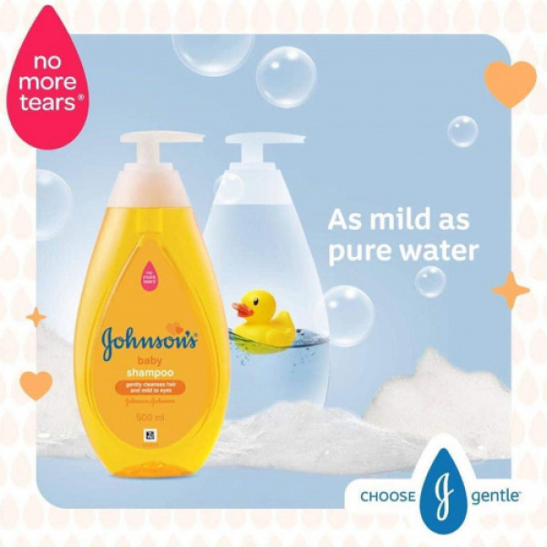 Johnson's Baby Shampoo, 500ml