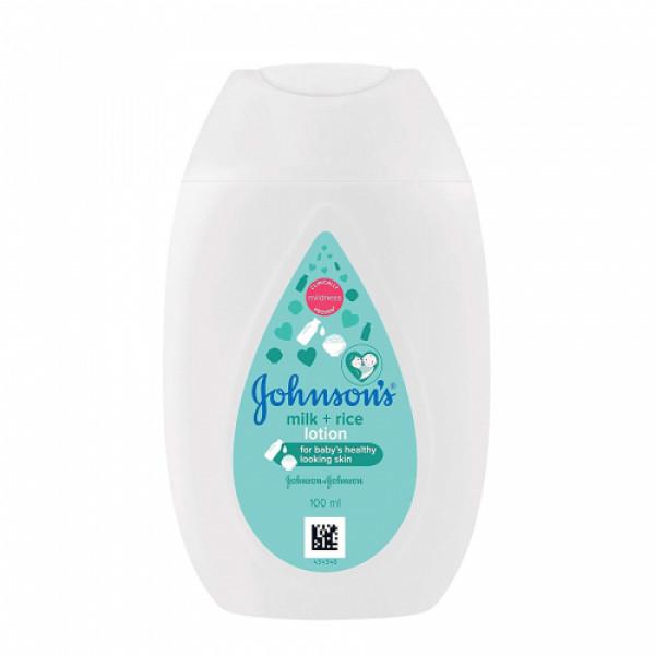 Johnson's Baby Milk + Rice Lotion, 100ml