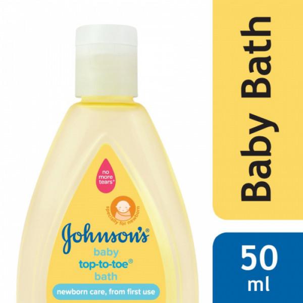 Johnson's Baby Top to Toe Bath, 50ml