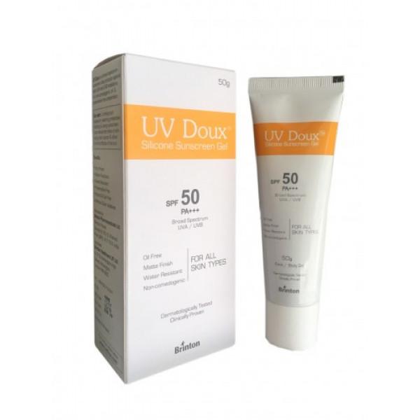 UV Doux Silicone Sunscreen Gel SPF 50 PA+++, 50gm