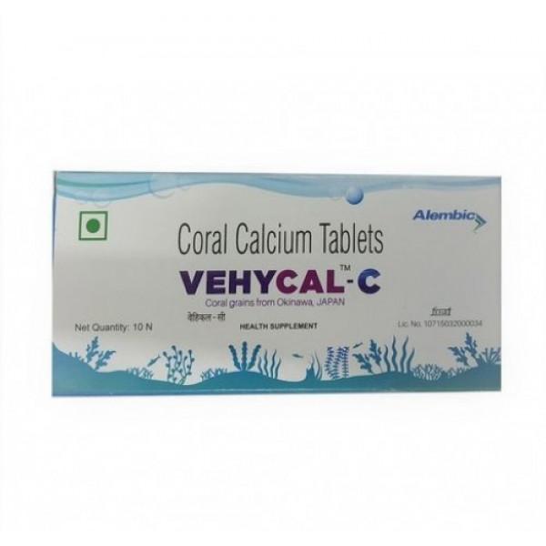 Vehycal C, 10 Tablets