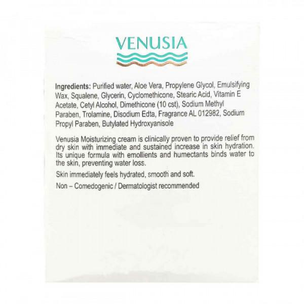 Venusia Moisturizing Cream with Squalene, Aloevera and Vitamin E Acetate, 100gm