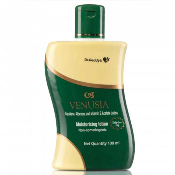 Venusia Squalene Aloevera and Vitamin E Acetate Moisturizing Lotion, 100ml