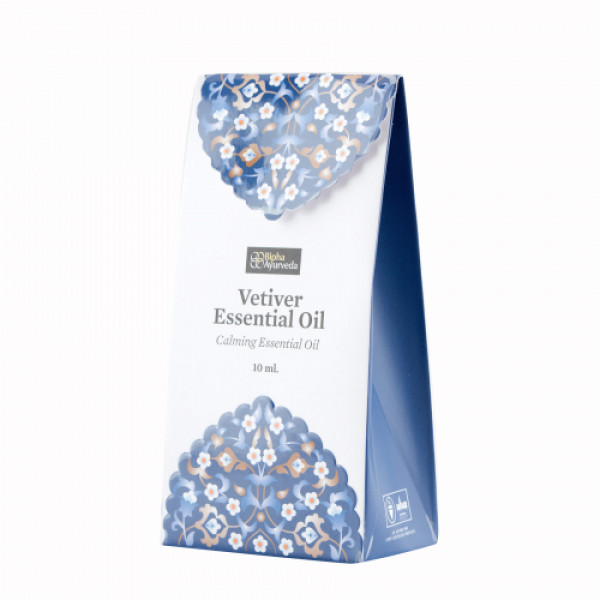 Bipha Ayurveda Vetiver Essential Oil, 10ml