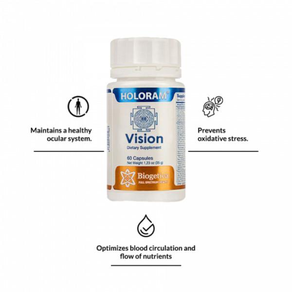 Biogetica Holoram Vision, 60 Capsules