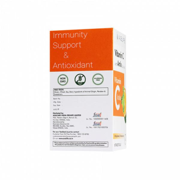 Avalife Vitamin C with Amla, 120 Capsules