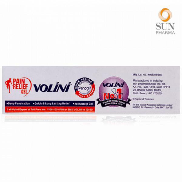 Volini Pain Relief Gel, 10gm