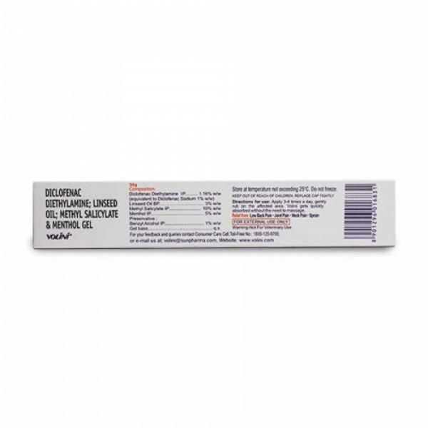 Volini Pain Relief Gel, 30gm