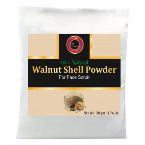 Avnii Organics Walnut Shell Powder, 50gm