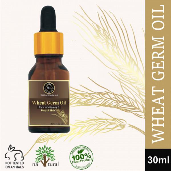 Avnii Organics Wheat Germ Oil, 30ml