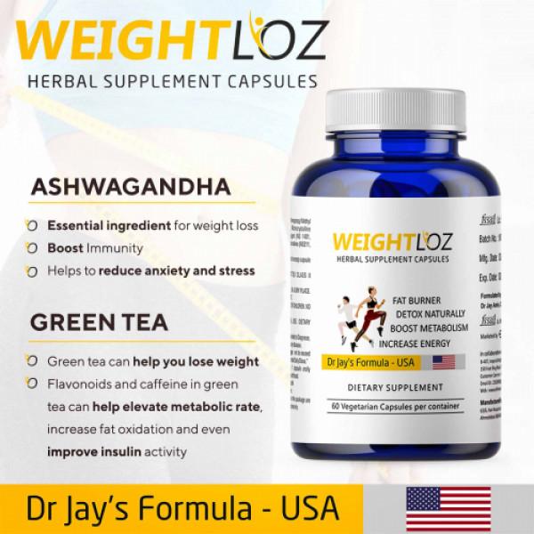 Weightloz - Herbal Supplement, 60 Capsules