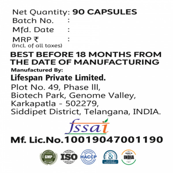 Nlife Weight Management, 90 Capsules