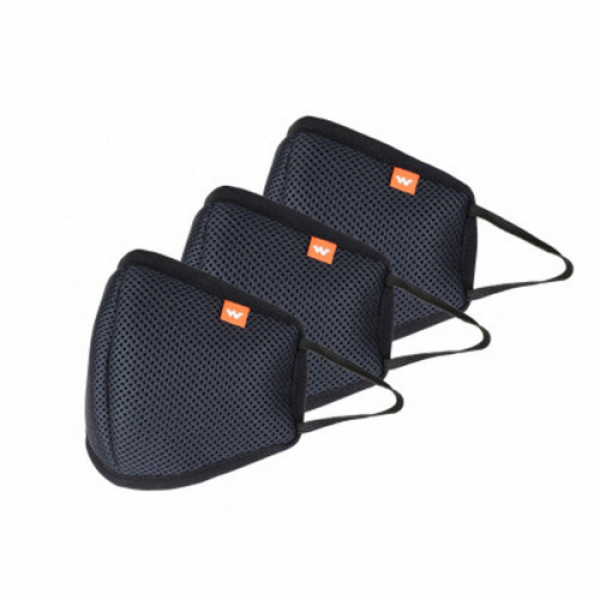Wildcraft Hypa Shield - Reusable Outdoor Protection Face Mask ( Small Pack Of 3)